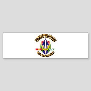 Army - II Field Force, Vn w SVC Ribbon Sticker (Bu