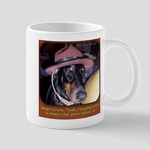 Ranger Doberman Mugs
