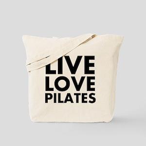 Live Love Pilates Tote Bag