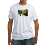 Metabods Road Sign Fitted T-shirt