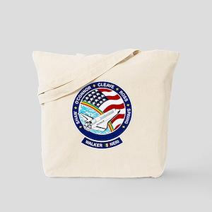 STS 61B Atlantis Tote Bag