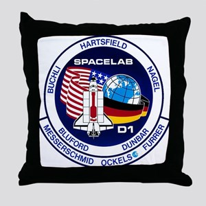 STS-61A Challenger Throw Pillow