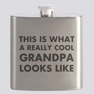THIS IS WHAT  A REALLY COOL GRANDPA LOOKS LI Flask