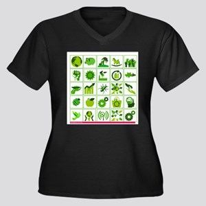 Go Green Plus Size T-Shirt