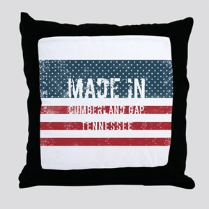 Made in Cumberland Gap, Tennessee Throw Pillow