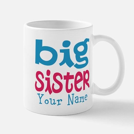 Personalized Big Sister Mug