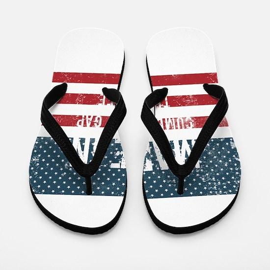 Made in Cumberland Gap, Tennessee Flip Flops