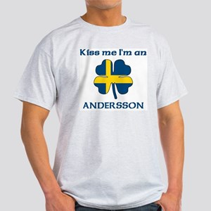 Andersson Family Ash Grey T-Shirt