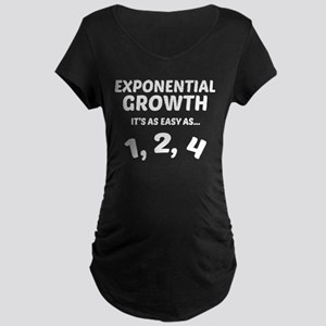 Exponential Grwoth Maternity T-Shirt