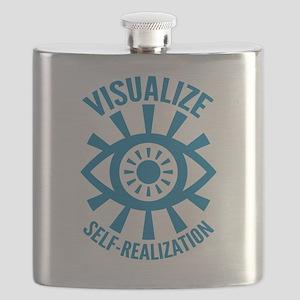Visualize Self Realization The Mentalist Flask