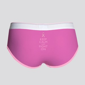 Keep Calm Breast Cancer Support Awareness Women's