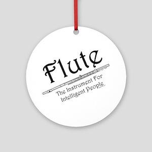 Intelligent Flute Ornament (Round)