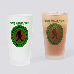 Custom Sasquatch Research Team Drinking Glass