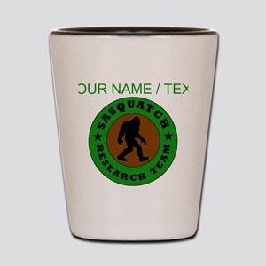 Custom Sasquatch Research Team Shot Glass
