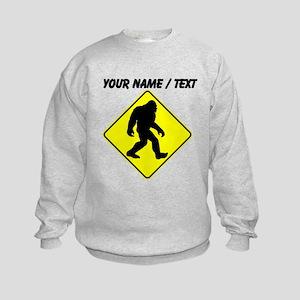 Custom Bigfoot Crossing Sweatshirt