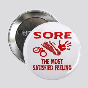 "Sore Satisfied S&M 2.25"" Button"