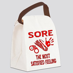 Sore Satisfied S&M Canvas Lunch Bag