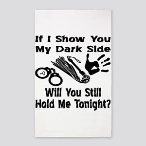 Show You My Dark Side 3'x5' Area Rug