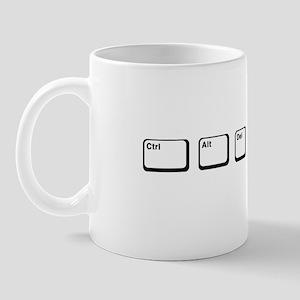 Control Alt Delete Mug