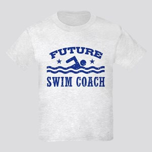 Future Swim Coach Kids Light T-Shirt