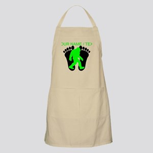 Custom Bigfoot Footprint Apron