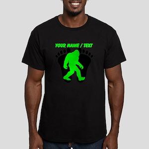 Custom Bigfoot Footprint T-Shirt