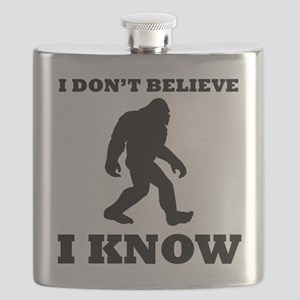Bigfoot I Know Flask