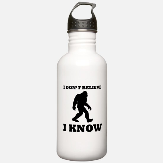 Bigfoot I Know Water Bottle