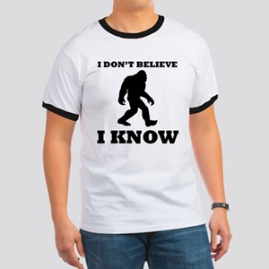 Bigfoot I Know T-Shirt