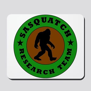 Sasquatch Research Team Mousepad