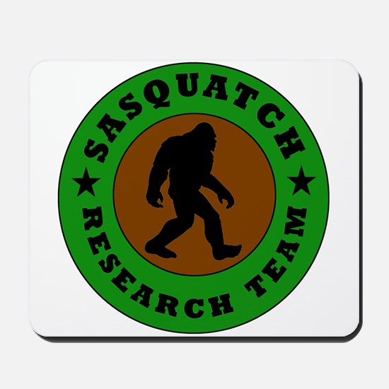 Sasquatch Research Team Mousepad