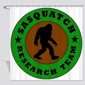 Sasquatch Research Team Shower Curtain