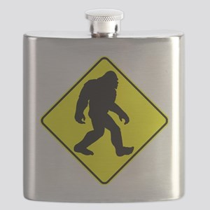 Bigfoot Crossing Flask