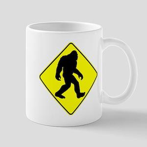 Bigfoot Crossing Mugs