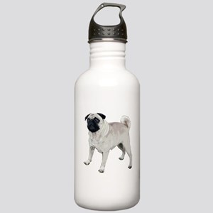 Cute pug Stainless Water Bottle 1.0L