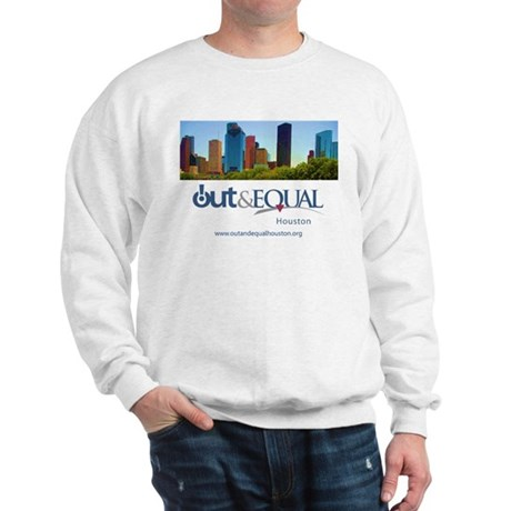 Out Equal Houston Cityscape Sweatshirt