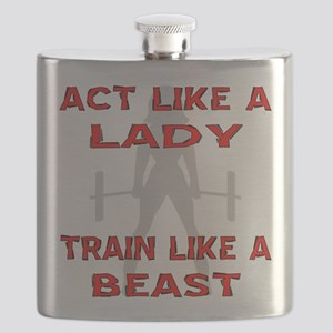 Train Like A Beast Flask