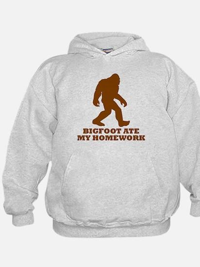 Bigfoot Ate My Homework Hoodie
