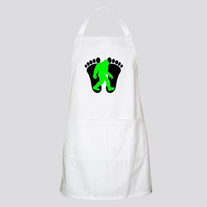Neon Green Bigfoot Apron