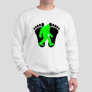 Neon Green Bigfoot Sweatshirt