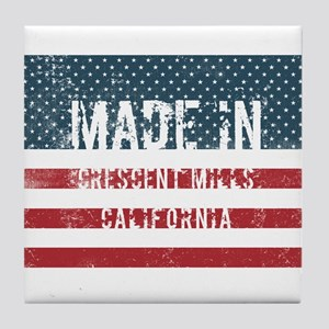 Made in Crescent Mills, California Tile Coaster