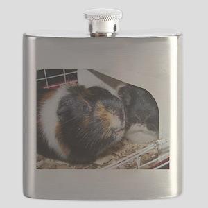 Two Little Piggies Flask