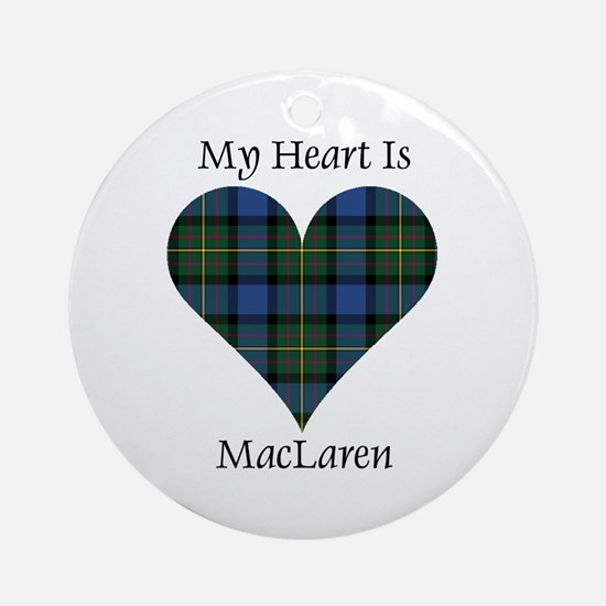 Heart - MacLaren Ornament (Round)