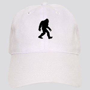 Bigfoot Silhouette Baseball Cap b25fdf18efe3