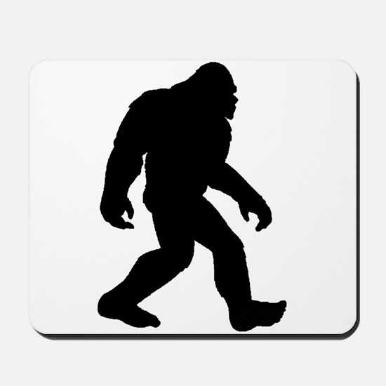 Bigfoot Silhouette Mousepad