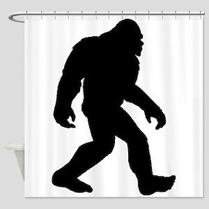 Bigfoot Silhouette Shower Curtain