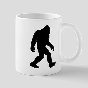 Bigfoot Silhouette Mugs