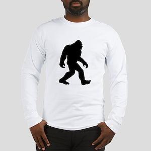 Bigfoot Silhouette Long Sleeve T-Shirt