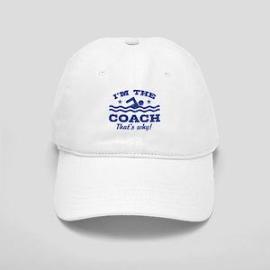 Funny Swim Coach Cap