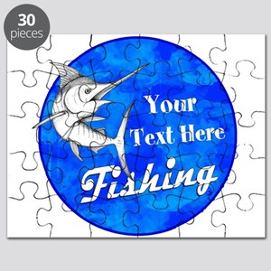 Custom fishing Puzzle